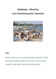 Charterbranchen i Danmark | Afsætning Case