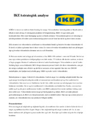 IKEA strategisk analyse | 10 i karakter