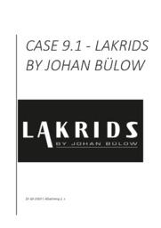 Virksomhedsanalyse af Lakrids by Johan Bülow   10 i karakter