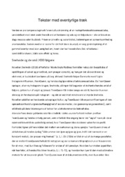 Snehvide | Analyse | Nicole Boyle Rødtnes | 12 i Karakter