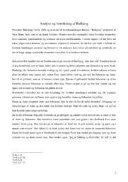 Analyse og fortolkning af novellen Bulbjerg   10 i karakter