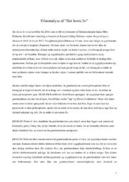 Det Korte Liv | Analyse | Janus Metz Pedersen | 10 i Karakter