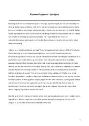 Novelleanalyse af Kummefryseren   10 i karakter