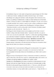Litteratur   Analyse   Dan Ringgaard   12 i Karakter