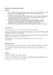 Dansk Opgave | Rapgenrer | Noter