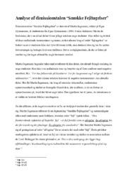 Analyse af dimissionstalen Smukke Fejltagelser | 10 i karakter