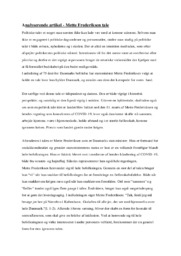 Analyserende artikel   10 i Karakter