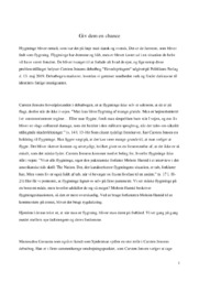 Hovedspringere | Analyse | Carsten Jensen | 10 i Karakter