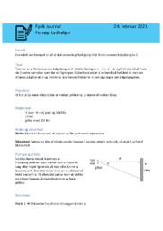 Lydbølger | Fysikrapport | 10 i karakter