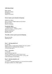 Adfærdspsykologi | Noter | Psykologi