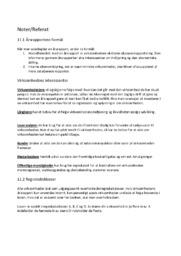 Virksomhedsøkonomi | VØ Opgave | Noter