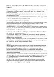Horisontal integration   Afsætning   Noter