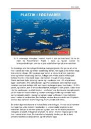 Mikroplast i fisk | Biologiopgave | 10 i karakter