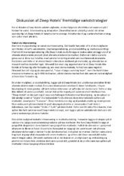 Zleep Hotels' vækststrategier | 12 i karakter