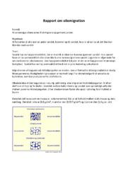 Rapport om oliemigration | 10 i karakter