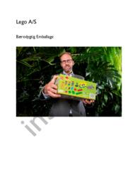 Lego A/S Bæredygtig Emballage   Erhvervscase