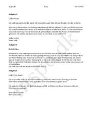 Tysk test ved Goethe Institut – 29 april 2014