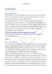 Fordisme opgave – Trekassemodellen | Teknologihistorie