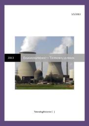 Tjernobyl ulykken – Eksamensprojekt om Tjernobyl | Teknologihistorie