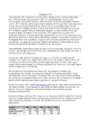 DK Company AS | VØ opgave | 12 i karakter