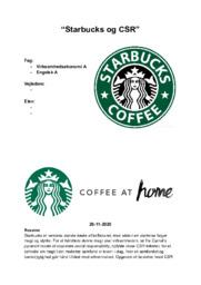 Starbucks og CSR | SOP | 10 i karakter