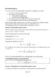 Binomialfordelingen | Noter