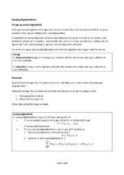 Sandsynlighedsteori noter | Matematik