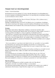 Hessel med nyt rekordregnskab | Bilforhandler | 10 i karakter