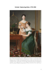 Kvinder i oplysningstiden | 10 i karakter