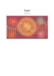 Lyd og lys | Fysik noter