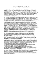 Det danske demokrati | Historie noter