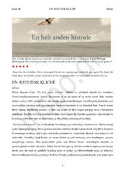 En helt anden historie – Håkan Nessers krimi | Boganmeldelse