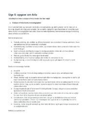 Arla Foods virksomhedsanalyse | 12 i karakter
