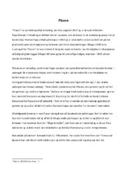 Planen   Analyse   Morten  Pape Nielsen   10 i Karakter