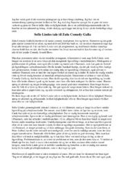 Tale | Analyse | Sofie Lindes | 10 i Karakter