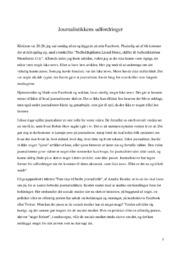 Journalistikkens udfordringer | Fake news | Noter Dansk