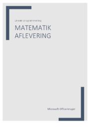 Lineær programmering | Matematik