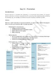 Afsætningsnoter Kapitel 15 – Promotion  | HHX afsætning