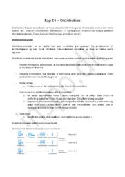 Afsætningsnoter Kapitel 14 – Distribution | HHX afsætning