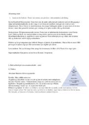 Afsætnings noter | 20 sider
