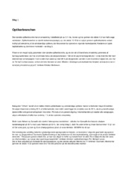 Optikerbranchen | Analyse | 12 i karakter