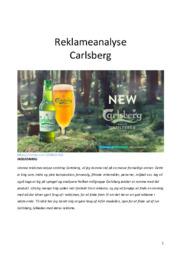 Carlsberg Unfiltered | Analyse | Carlsberg | 10 i Karakter