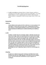 Paradisæblerne | Analyse | Martin A. Hansen | 10 i Karakter