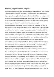 Ungdomsoprøret i Vangede | Analyse | Dan Turèll