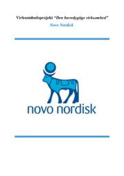 Novo Nordisk | Virksomhedsprojekt | 10 i karakter