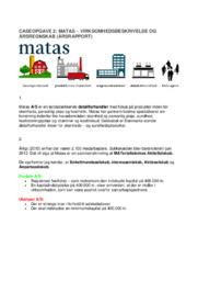 Matas   Årsrapport   12 i karakter