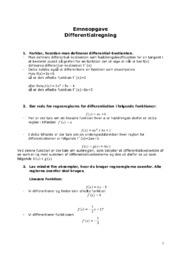Differentialregning   Emneopgave   12 i karakter-kopi