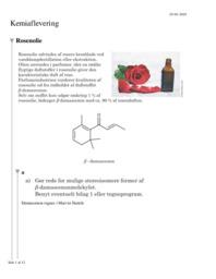 Memantin og Rosenolie | 12 i karakter