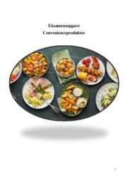 Convenienceprodukter | Eksamensopgave | 12 i karakter