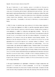 'American Sniper'   Analytical essay   12 i karakter
